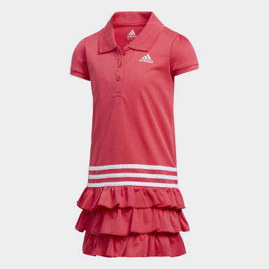 Children Training Pink Polo Dress