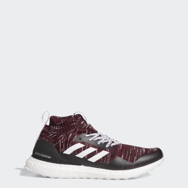 Men Running Red Ultraboost DNA x Patrick Mahomes Mid Shoes