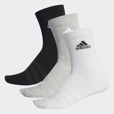เทรนนิง สีเทา ถุงเท้าความยาวครึ่งแข้ง (3 คู่)