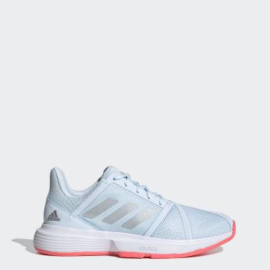 Chaussure CourtJam Bounce Bleu Femmes Tennis