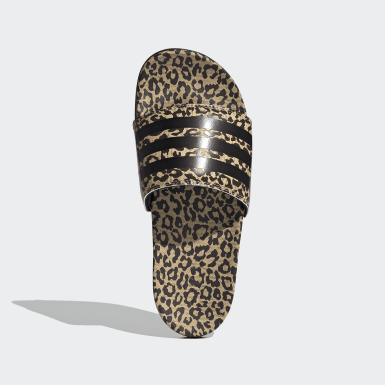 Dames Zwemmen beige adilette Comfort Slippers