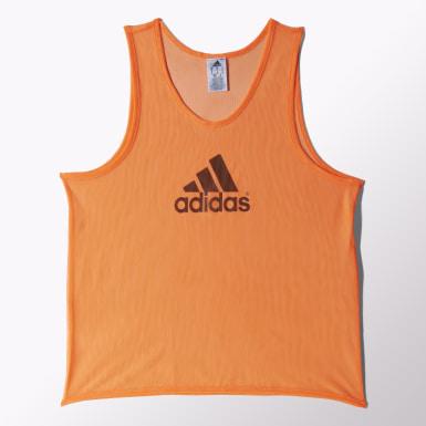 Koszulka treningowa bez rękawów Pomarańczowy