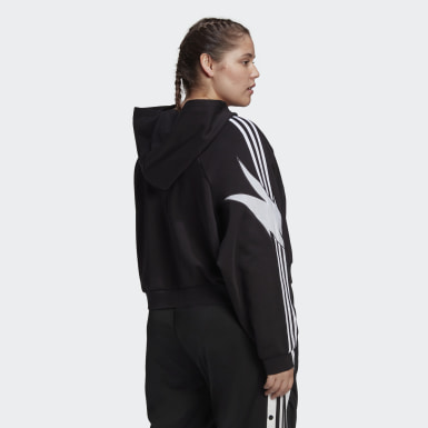 Women's Originals Black Fakten Hoodie (Plus Size)