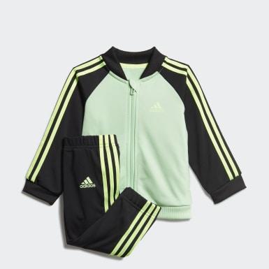 3-Stripes Tricot Treningsdress Grønn