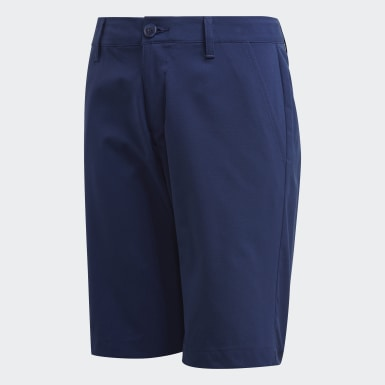 Boys Golf Solid Golf Shorts