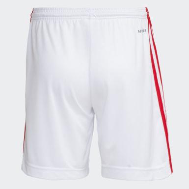 Shorts Internacional 1 Branco Meninos Futebol