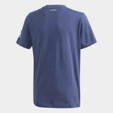 синий Футболка для тенниса Graphic