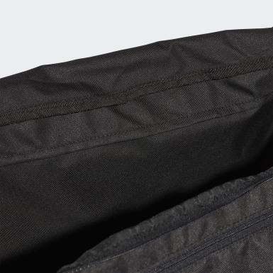 เทรนนิง สีดำ กระเป๋าดัฟเฟิล Linear Core ขนาดกลาง