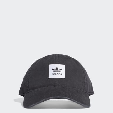 Gorra Dad Washed Negro Originals