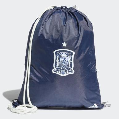 Saco de Ginásio de Espanha Azul Futebol