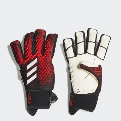Football Black Predator 20 Ultimate Pro Goalkeeper Gloves