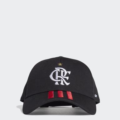 Boné Baseball CR Flamengo 1 Preto Futebol