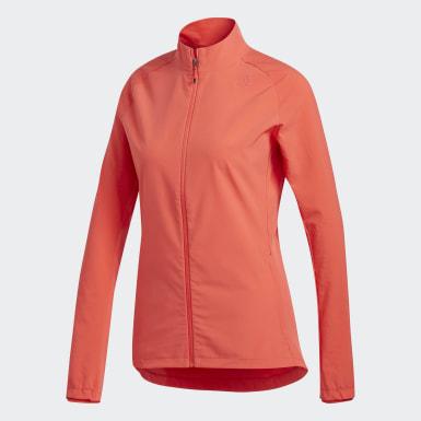 красный Куртка для бега Supernova Storm