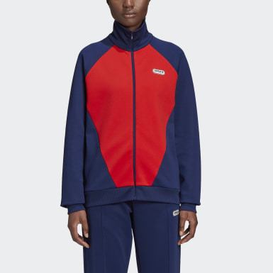Women's Originals Red Lotta Volkova Podium Track Jacket