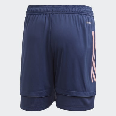 Arsenal Training Shorts Niebieski