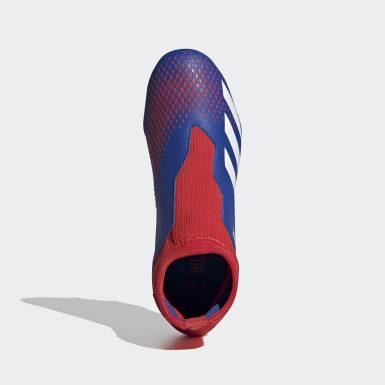 Bota de fútbol Predator 20.3 césped natural seco Azul Niño Fútbol