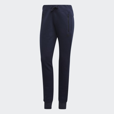 Women Athletics Blue ID Tracksuit Bottoms