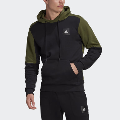 Men's Athletics Black adidas Sportswear Stadium Pullover