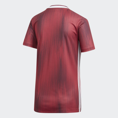 Dam Fotboll Burgundy Germany Away Jersey
