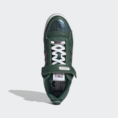 Men Originals Green Forum Low Shoes