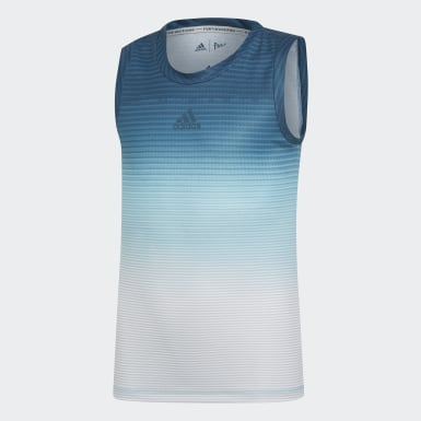 Kids Tennis Blue Parley Tank Top