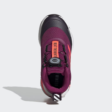 Zapatilla Fortarun Running/Hiking 2020 Burgundy Niña Running