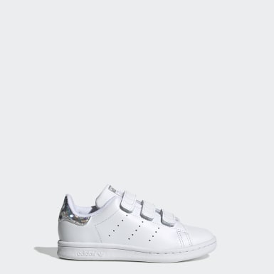 เด็ก Originals สีขาว รองเท้า Stan Smith