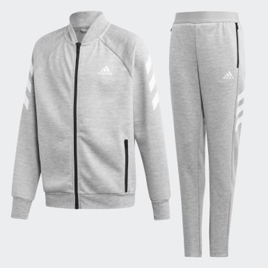Youth Training Grey Track Suit