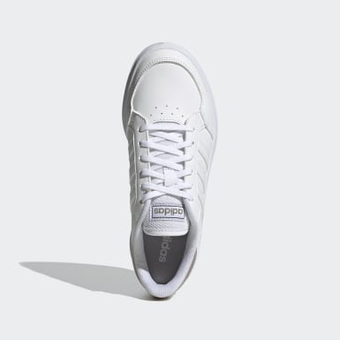 Women Sport Inspired White Breaknet Shoes