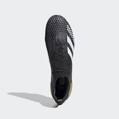 Fodbold Sort Predator Mutator 20.1 Firm Ground støvler