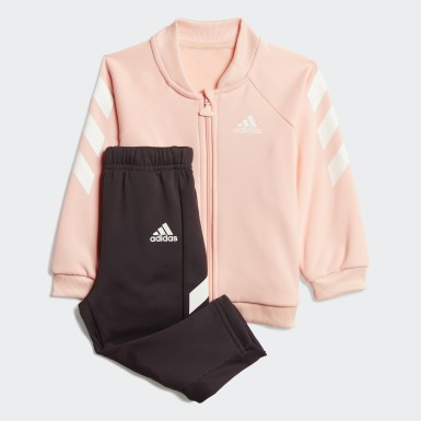 Girls Training Pink Mini Me Graphic Track Suit