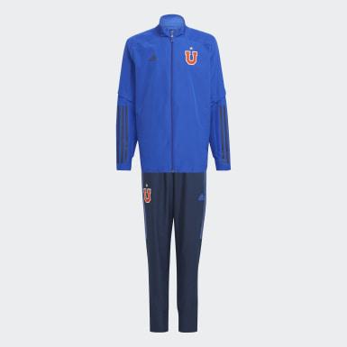 UCH PRE SUITY Azul Niño Fútbol