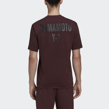 Y-3 Bordeaux Y-3 CH2 Graphic T-shirt