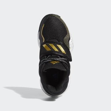 Children Basketball Black Deep Threat Shoes