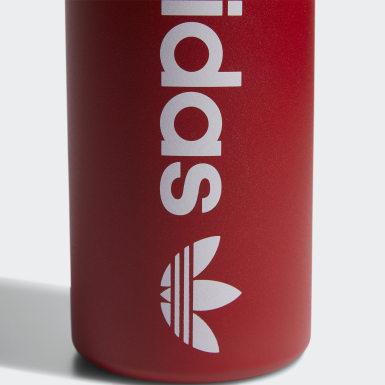 Football Red Steel Bottle 1 L