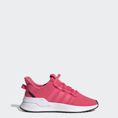 Zapatillas U_Path Run Rosado Niño Originals