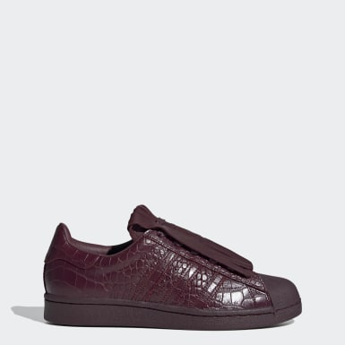 Women Originals Burgundy Superstar FR Shoes