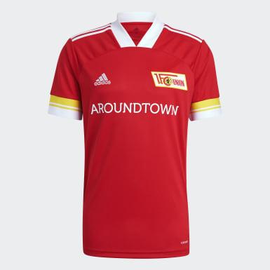 Camiseta primera equipación 1. FC Union Berlin 20/21 Rojo Hombre Fútbol