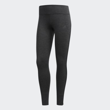 Women's Running Black Response Tights