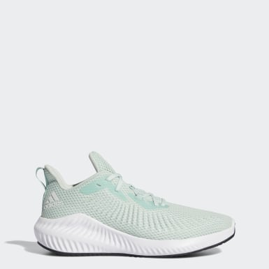 Women Running Green Alphabounce+ Shoes