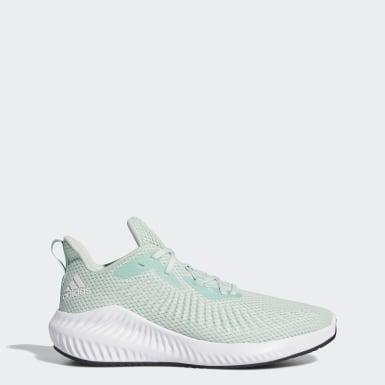 Kvinder Løb Grøn Alphabounce+ sko