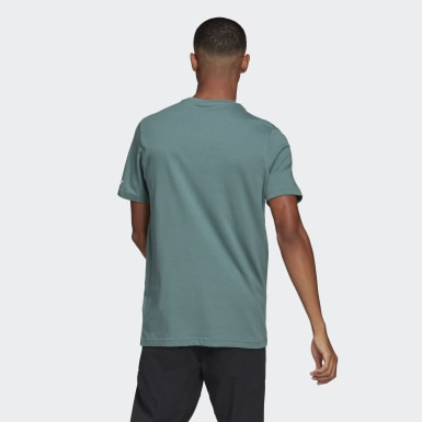 Heren TERREX Groen Terrex Graphic T-shirt