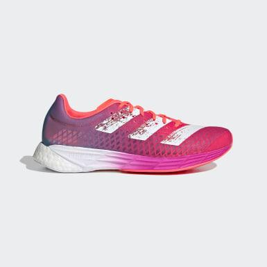 Kvinder Løb Pink Adizero Pro sko