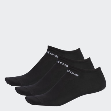 Calcetines Invisibles 3 Pares (UNISEX) Negro Training