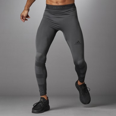 Men's Yoga Black Studio Techfit Seamless Long Tights