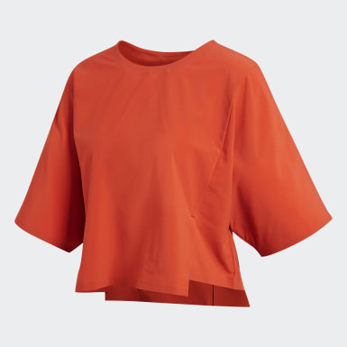 Women Athletics Orange Icon Tee