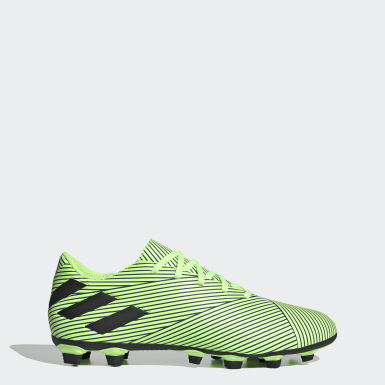 Soccer Green Nemeziz 19.4 Flexible Ground Cleats