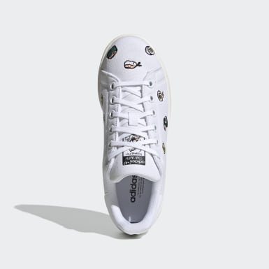 Youth Originals White Stan Smith Shoes