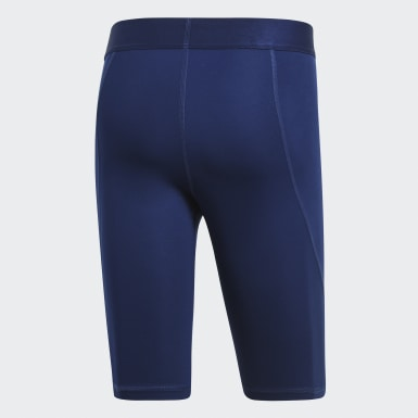 Licras Cortas Alphaskin Sport Azul Hombre Training