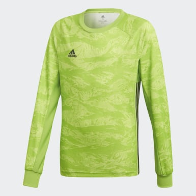 Youth Soccer Green AdiPro 19 Goalkeeper Jersey